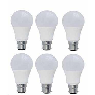 Syska 5W White Led Pa Bulbs (Pack Of 6) - White