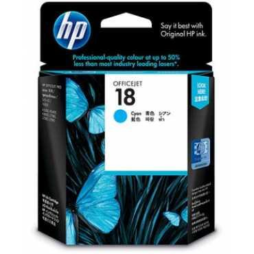 HP 18 Cyan Ink Cartridge - Blue