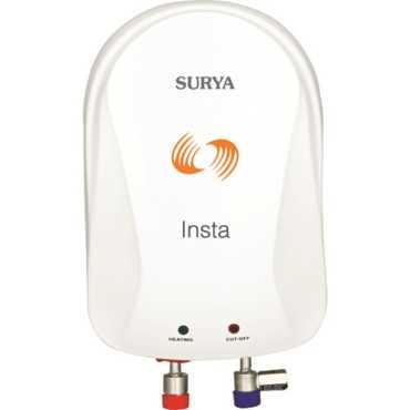 Surya Insta 3 Litre Instant Water Geyser - White