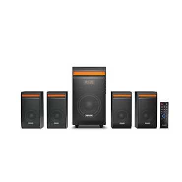 Philips SPA8140B/94 4.1 Channel Multimedia Speaker - Black