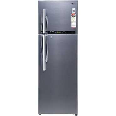LG GL-D402RSHM 360 Ltr 4S Double Door Frost Free Refrigerator - Silver