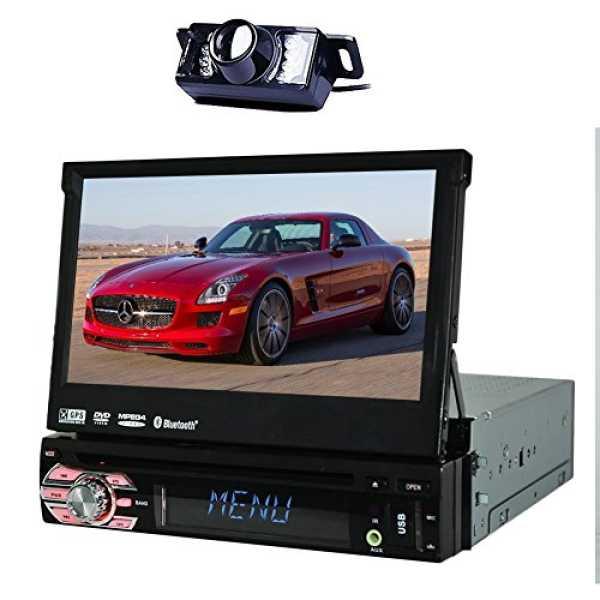 EinCar  In-Dash Single-DIN Car Stereo (7 Inches)