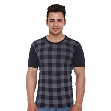 Shaun Men s Cotton T-Shirt 104MPrtd1_N_Dark Blue_XXX-Large