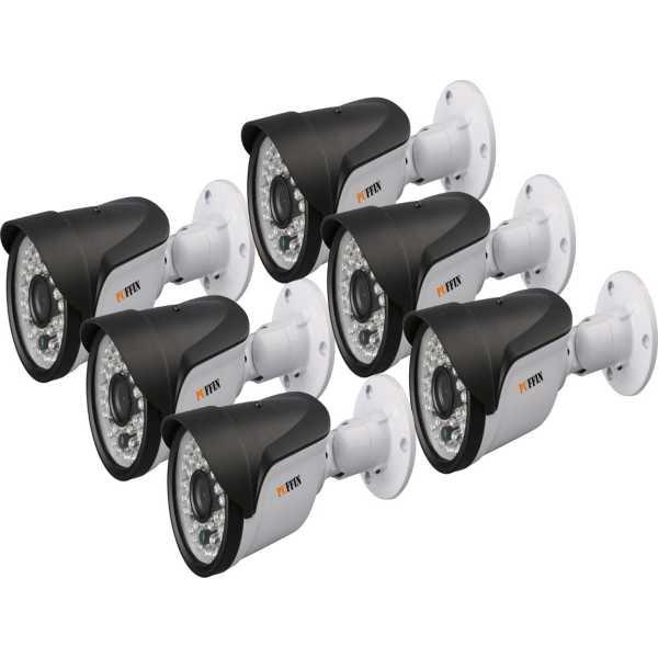Puffin 6B83306 720P Bullet CCTV Camera (6 Pcs)