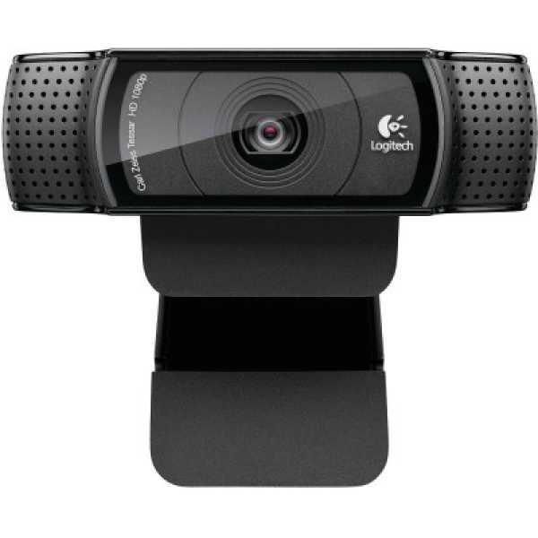 Logitech HD C920 Pro Webcam - Black