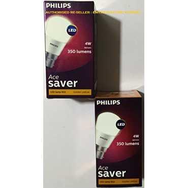 Philips 4W LED Bulb White Pack of 2
