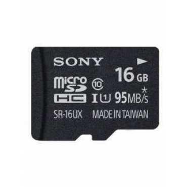 Sony SR-16UXA 16GB Class 10 MicroSDHC Memory Card