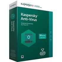 Kaspersky 2015 10 PC 1 Year Antivirus