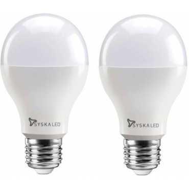 Syska 12 W Standard E27 1200L LED Bulb Yellow Pack of 2