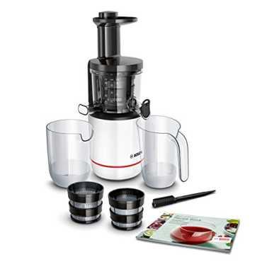 Bosch Comfort MESM500W 150W Juicer - Black | White