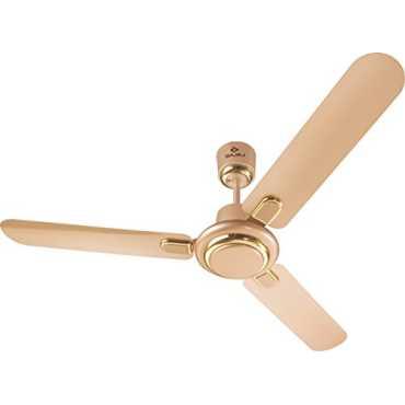 Bajaj Regal Gold 3 Blade (1200mm) Ceiling Fan - White | Gold
