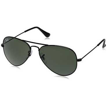 Aviator Sunglasses Black RB3025 002555