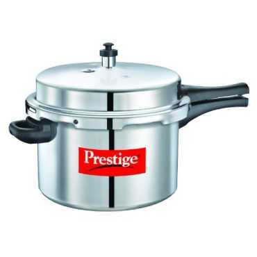 Prestige 10037 Popular Aluminium 8.5 L Pressure Cooker - Silver
