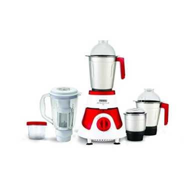Usha Imprezza Plus MG 3775 750W Mixer Grinder (5 Jars) - Red