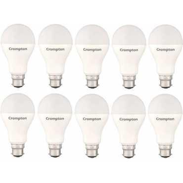 Crompton 23W Standard B22 2300L LED Bulb (White,Pack of 10) - White