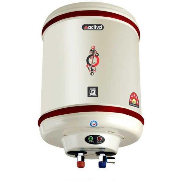 Activa Hotline 15 Litres 2 KW Storage Water Geyser - White