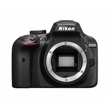 Nikon D3400 DSLR (Body Only) - Black