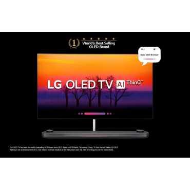 LG (OLED77W8PTA) 77 Inch 4K Ultra HD Smart OLED TV - Black