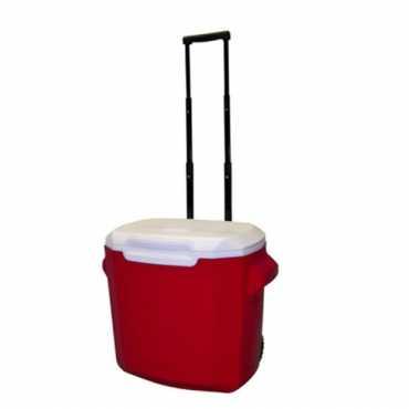 Coleman 28 Quart Wheeled Cooler - Red