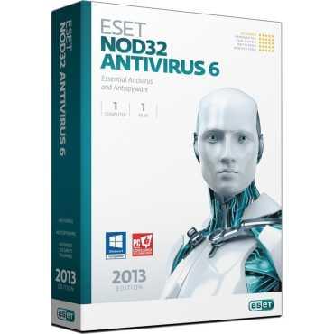 Eset NOD32 Antivirus Version 6 1 PC 1 Year