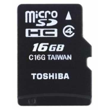 Toshiba SD-C16GJ 16GB Class 4 MicroSD Memory Card