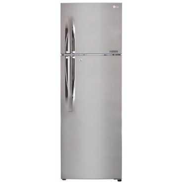 LG GL-I372RPZY 335L 3S Double Door Refrigerator Shiny Steel
