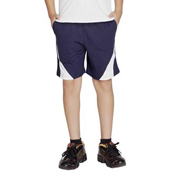 Boy's Shorts - Navy White - XX-Large