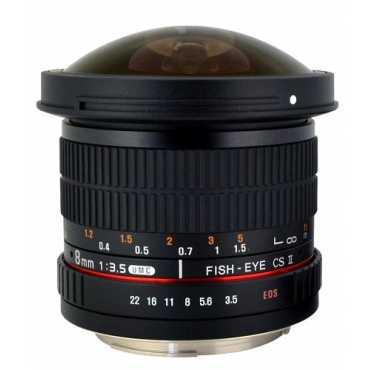 Rokinon HD8M-P 8mm f/3.5 HD Fisheye Lens (For Pentax) - Black