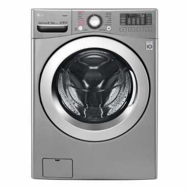 LG 18/10 Kg Front Loading Washer Dryer (F0K2CHK2T2) - Steel