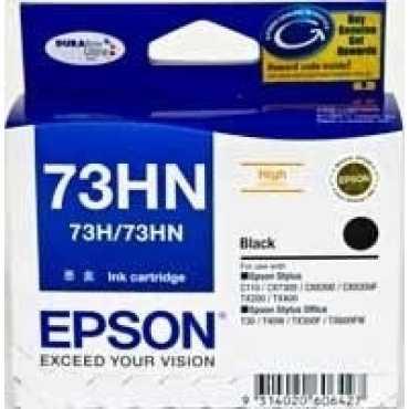 Epson 73HN C13T104190 Black Ink Cartridge - Black   Red
