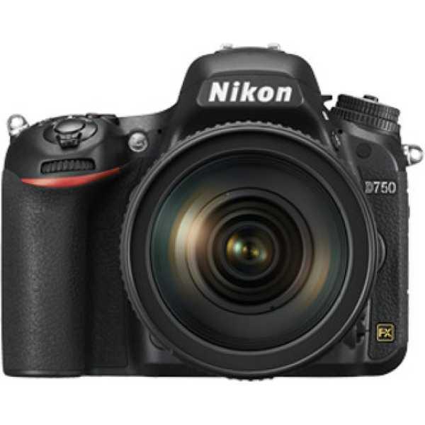 Nikon D750 DSLR (Body Only) - Black