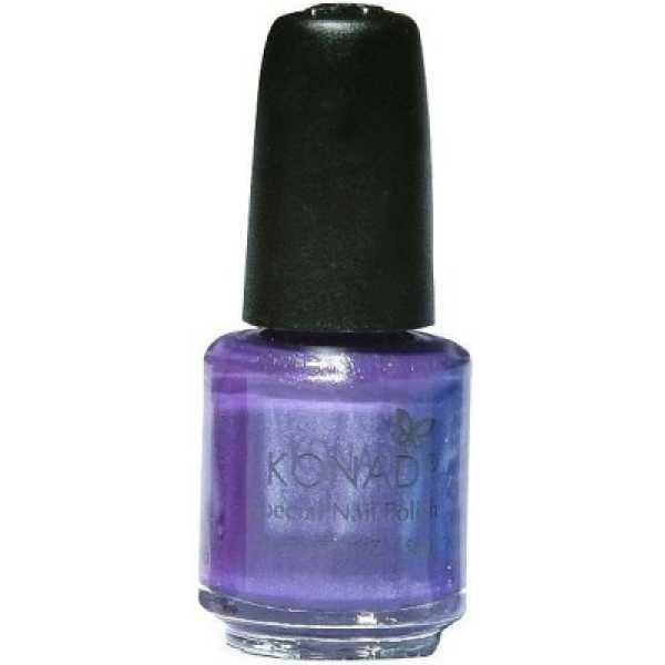 Konad Stamping Nail Art Polish (Violet Pearl) - Violet