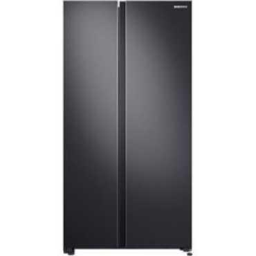 Samsung RS72A50K1B4 692 L Inverter Frost Free Side By Side Door Refrigerator