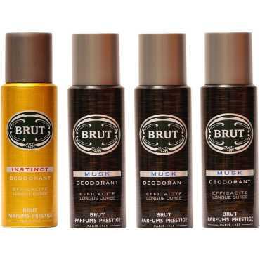 Brut Musk Instinct Combo Set of 4