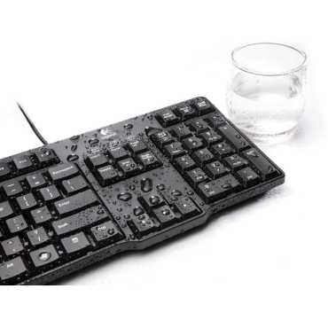 Logitech K100 Classic PS2 Keyboard - Black