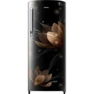 Samsung RR20T272YB8 192 L 3 Star Inverter Direct Cool Single Door Refrigerator