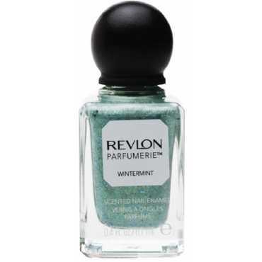 Revlon Parfumerie Scented Nail Enamel (Wintermint) - Green