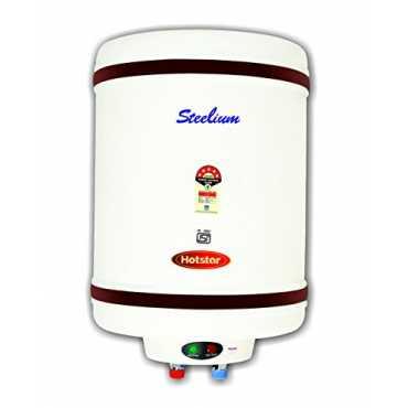 Hotstar Steelium 50 Litres Storage Water Geyser - White