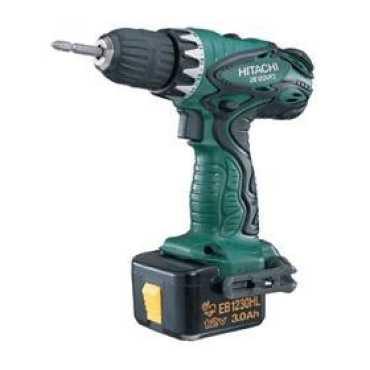 Hitachi DS12DVF3 12V Cordless Driver Drill - Green