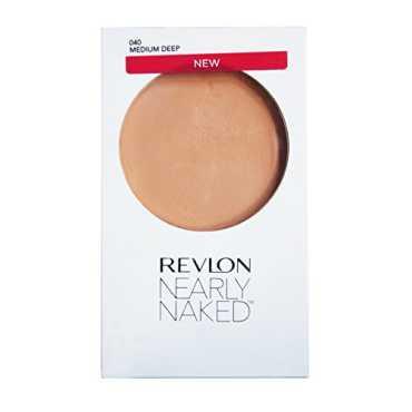 Revlon Nearly Naked Pressed Powder Compact Medium Deep