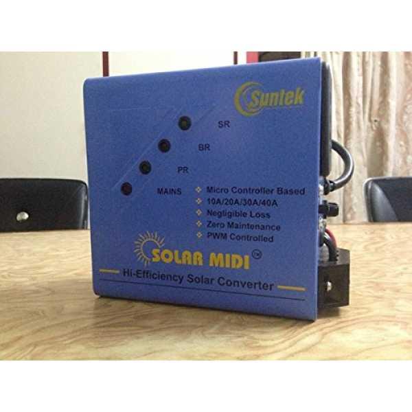 Suntek Energy 24V Metal Solar Converter - Multicolor