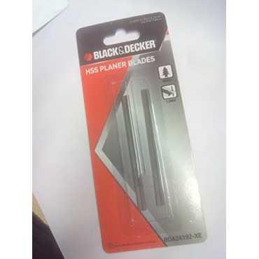 Black & Decker BDA24192-XE HSS Planer Blade Set (For KW712) - Silver
