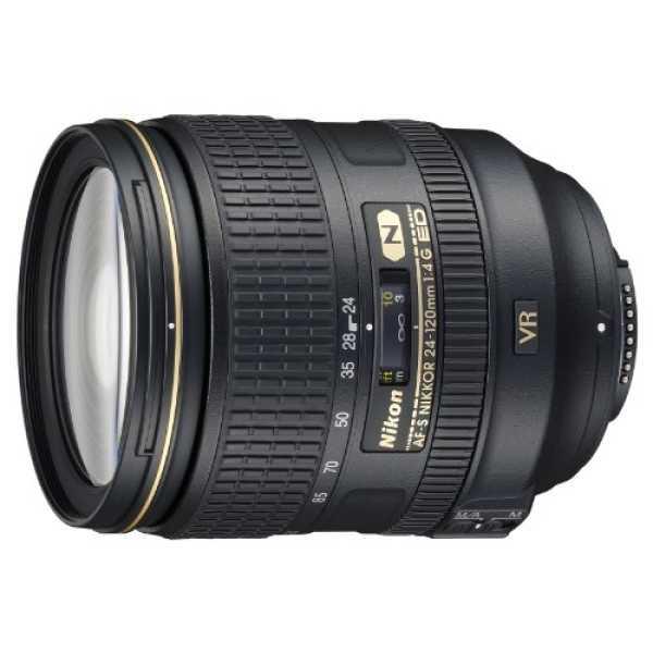 Nikon AF-S NIKKOR 24-120mm F 4G ED VR Lens