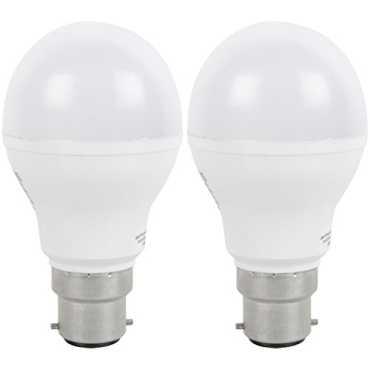 Webers 7W B22 LED Bulb (Cool Day Light, Pack Of 2) - White