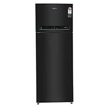 Whirlpool IF 455 ELT 440 L 3 Star Frost Free Double Door Refrigerator - Black