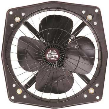 Sonya 9 Inch Tempest 4 Blade Exhaust Fan - Black
