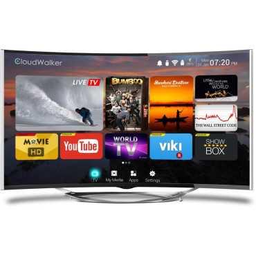 Cloudwalker Cloud TV 55SU-C 55 Inch Ultra HD 4K Smart Curved LED TV