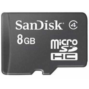 SanDisk 8GB MicroSDHC Class 4 (48MB/s) Memory Card
