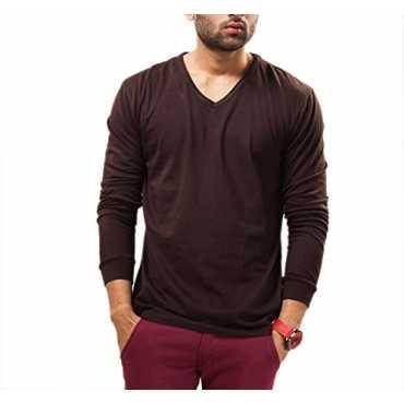 V-neck Full Sleeves T-shirt