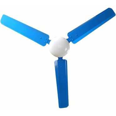 Sameer I-Flo Dust Proof 3 Blade Ceiling Fan - Blue